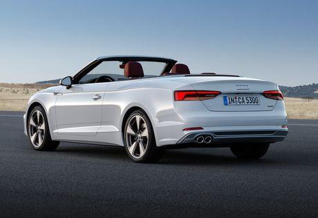 Audi trinh lang A5 Cabriolet 2018 - Anh 3