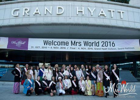 Dai dien Viet Nam - Xuan Thuy lot top 5 Hoa hau Quy ba - Mrs World 2016 - Anh 12