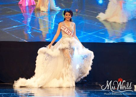Dai dien Viet Nam - Xuan Thuy lot top 5 Hoa hau Quy ba - Mrs World 2016 - Anh 1