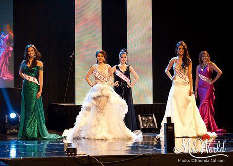 Dai dien Viet Nam - Xuan Thuy lot top 5 Hoa hau Quy ba - Mrs World 2016 - Anh 2