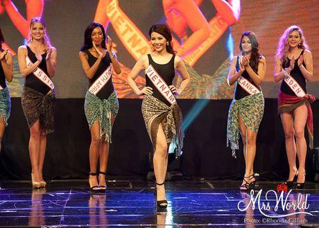 Dai dien Viet Nam - Xuan Thuy lot top 5 Hoa hau Quy ba - Mrs World 2016 - Anh 5