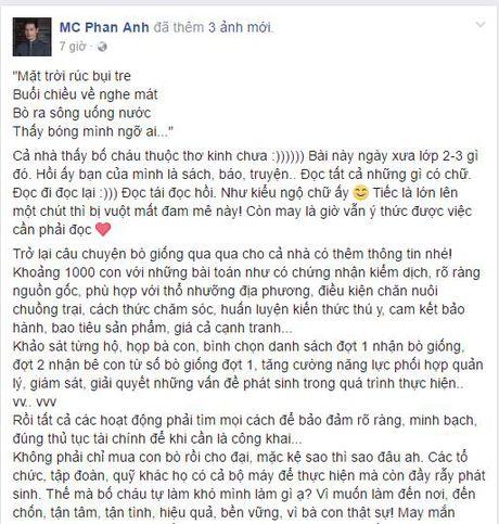 MC Phan Anh bat ngo quyet dinh thay doi cach lam thien nguyen - Anh 3