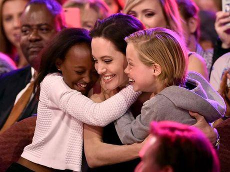 Angelina Jolie tiep tuc duoc quyen tam thoi nuoi 6 con - Anh 1