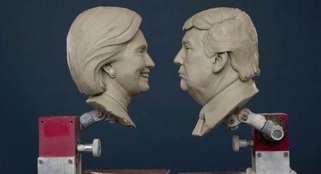 Tuong sap Trump – Clinton: Thua tran dong nghia voi 'mat dau' - Anh 1