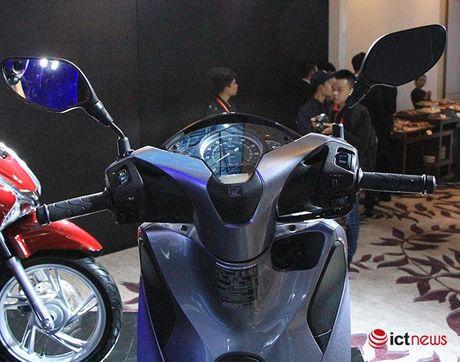 Chi tiet Honda SH moi vua ra mat tai Viet Nam - Anh 23