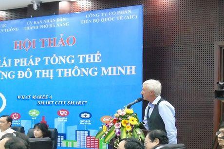 Chuyen gia quoc te tu van mo hinh xay dung thanh pho thong minh cho Da Nang - Anh 1