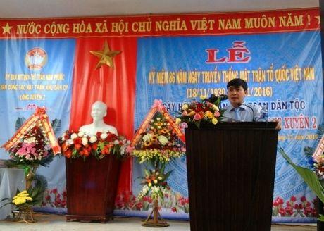 Huyen Duy Xuyen to chuc Ngay hoi Dai doan ket toan dan toc - Anh 1