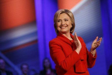 Hillary doi ke hoach an mung neu dac cu - Anh 1