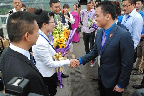 Khai mac Lien hoan thanh nien Viet - Trung lan thu 3 - Anh 1