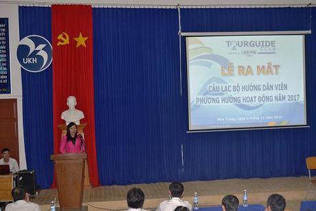 Khanh Hoa: Ra mat Cau lac bo huong dan vien du lich - Anh 1