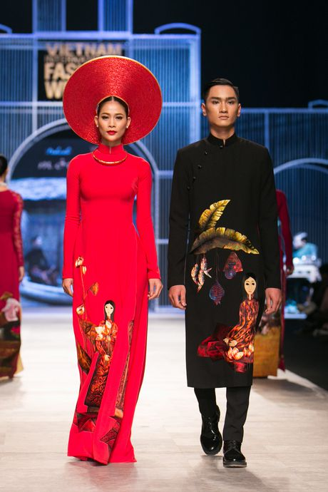 Vietnam International Fashion Week Thu Dong 2016 & Top 7 BST Dep chon - Anh 53