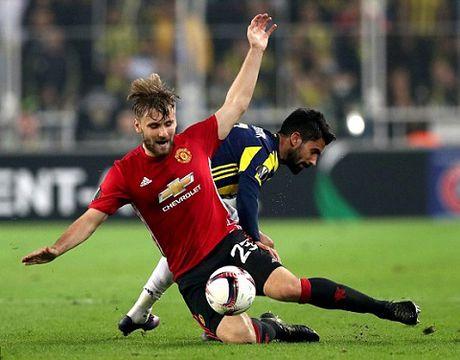 Luke Shaw tap rieng sau khi bi Mourinho chi trich - Anh 2