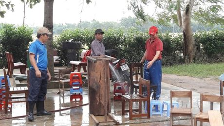 Quang Tri: Cam Lo ngon ngang sau lu - Anh 2