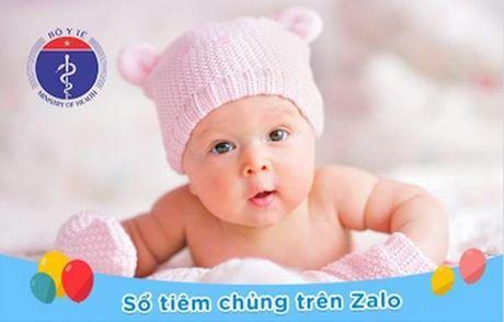 Bo Y te trien khai du an so tiem chung cho tre em tai Zalo - Anh 1