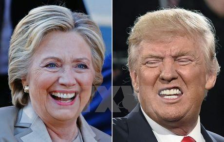 Ong Trump gianh duoc 254 phieu dai cu tri, bo xa ba Clinton - Anh 1