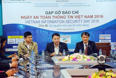 Se cong bo dieu tra ve thuc trang an toan thong tin o Viet Nam - Anh 1