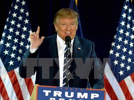 Viet Nam gui dien mung ngai Donald Trump dac cu Tong thong Hoa Ky - Anh 1