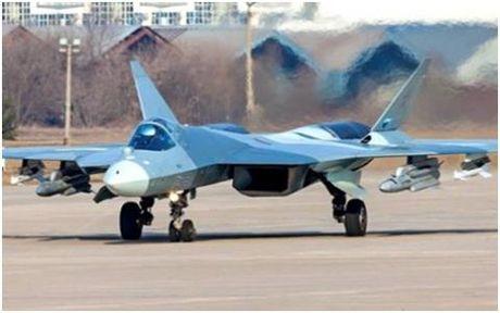 May bay tang hinh PAK FA T-50 lo...thiet bi khung - Anh 1