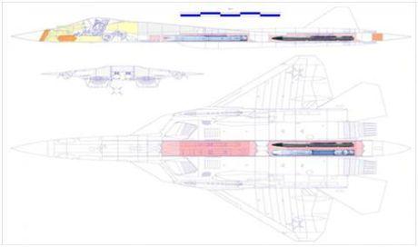 May bay tang hinh PAK FA T-50 lo...thiet bi khung - Anh 2