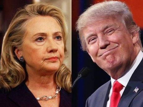 Bau cu Tong thong My: Ba Hillary duoi sat ong Trump - Anh 1