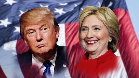 Truc tiep ket qua bau cu tong thong My: Hillary Clinton vuon len bo xa Trump - Anh 1