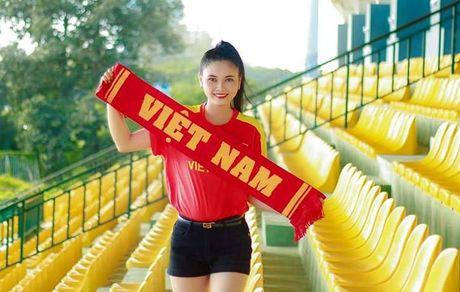 Nu CDV Can Tho ham nong tran giao huu cua DT Viet Nam - Anh 4