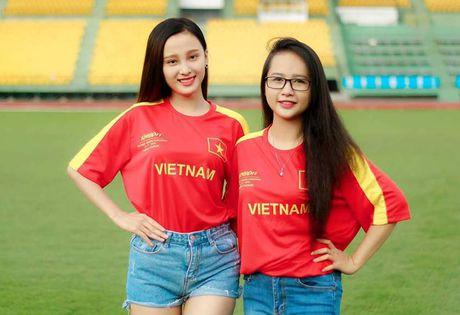 Nu CDV Can Tho ham nong tran giao huu cua DT Viet Nam - Anh 5