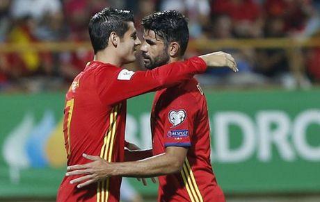 Costa va Morata deu choi tot, Lopetegui nen chon ai? - Anh 1