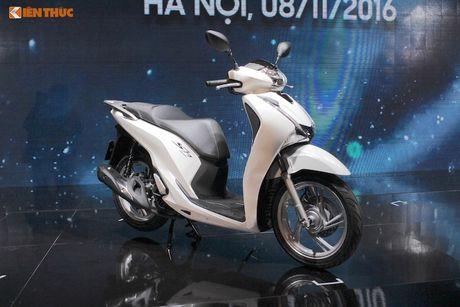 Tang gia ca chuc trieu dong, Honda SH 2017 co gi 'hot'? - Anh 3