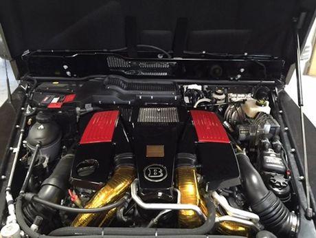 'Quai vat 6 banh' Brabus G63 AMG 6x6 gia 30,1 ty - Anh 5