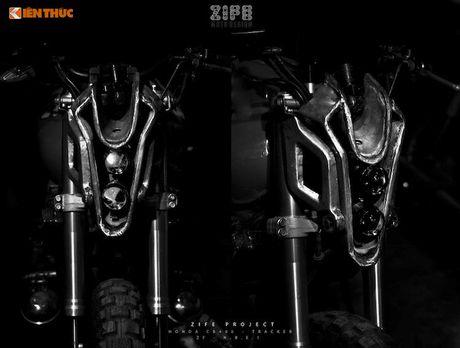 Honda CB400 do 'robot dai chien' Megatron tai Ha Noi - Anh 2