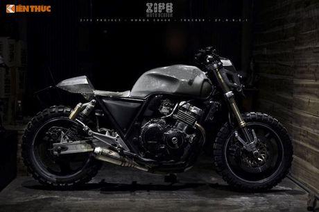 Honda CB400 do 'robot dai chien' Megatron tai Ha Noi - Anh 3