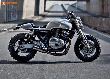 Honda CB400 do 'robot dai chien' Megatron tai Ha Noi - Anh 6