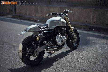Honda CB400 do 'robot dai chien' Megatron tai Ha Noi - Anh 7