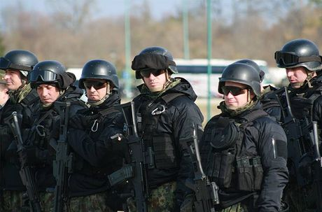 Linh du Nga bat ngo duoc lam quen voi vu khi NATO - Anh 2