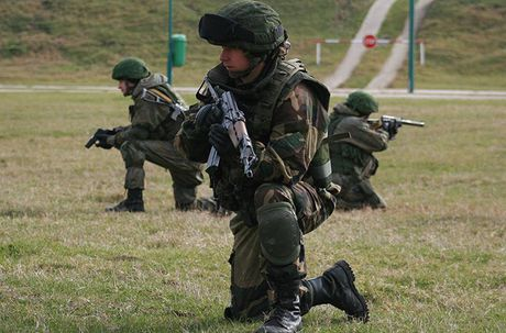 Linh du Nga bat ngo duoc lam quen voi vu khi NATO - Anh 5