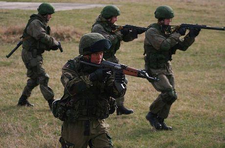 Linh du Nga bat ngo duoc lam quen voi vu khi NATO - Anh 8