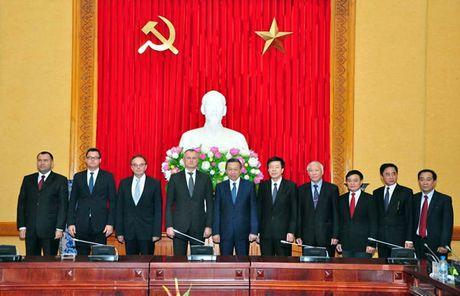 Bo truong To Lam hoi dam voi Doan dai bieu cap cao Bo Noi vu Cong hoa Belarus - Anh 2