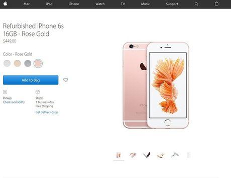 Apple mo ban iPhone da duoc tan trang - Anh 1