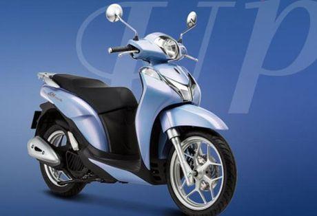 Honda Viet Nam gioi thieu SH 125i/150i: Mau xe toan cau hoan toan moi - Anh 1