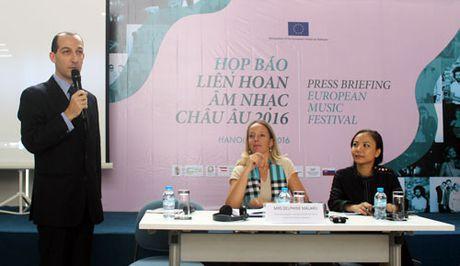 Hop bao Lien hoan am nhac Chau Au lan thu 15 tai Viet Nam - Anh 1