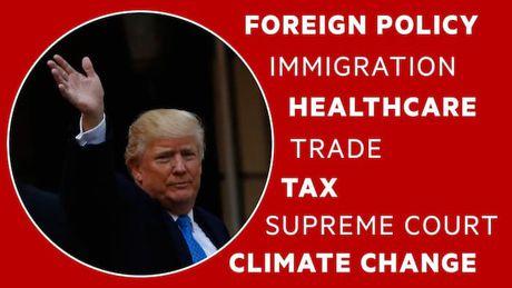 Tong thong Trump va 7 chinh sach thay doi nuoc My - Anh 1