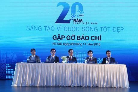 INAX ra mat cong nghe su ve sinh 100 nam van… sang bong - Anh 1