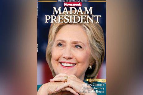 Bao My in truoc bia Clinton thang cu, nguoi ung ho Trump gian du - Anh 1