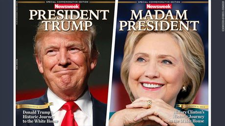 Bao My in truoc bia Clinton thang cu, nguoi ung ho Trump gian du - Anh 2