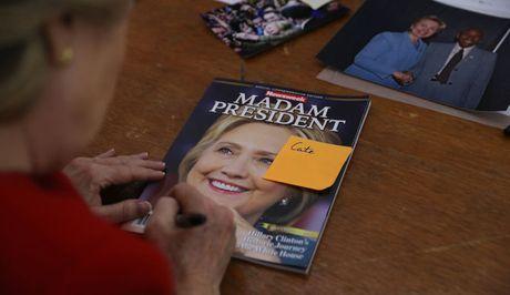 Bao My in truoc bia Clinton thang cu, nguoi ung ho Trump gian du - Anh 3