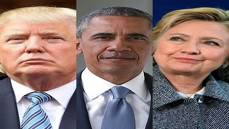 Bau cu Tong thong My: Trump dan truoc Clinton tai bang chien truong Florida - Anh 1