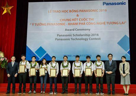 Panasonic trao hoc bong toan phan cho sinh vien 7 truong dai hoc - Anh 1