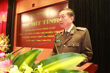 Bo Cong an to chuc Le mit-tinh huong ung Ngay Phap luat Viet Nam - Anh 2