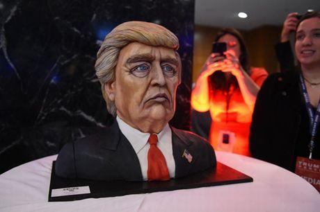 Trump xuat hien lan dau tien sau chien thang - Anh 8